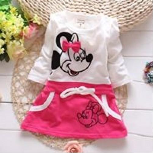 φόρεμα κοριτσάκι minnie mouse