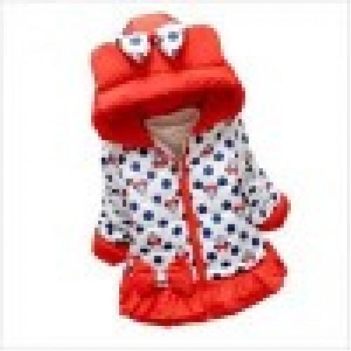 μπουφάν κορίτσι κόκκινο minnie mouse